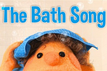 The Bath Song After a bath, I try, try, try