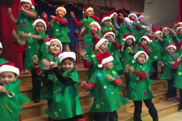 I am the happiest Christmas tree Hoo-hoo-hoo, hee-hee-hee