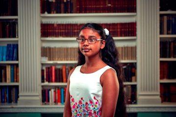 Nishi is British and Sri Lankan, she is the first ever Sri Lankan child to win Child Genius UK