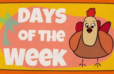 Days Of The Week English Song