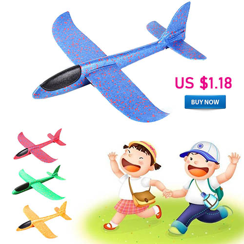DIY flying plane - Hand Throw Flying Glider Airplane
