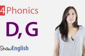 English Phonics Consonants d & g