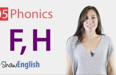 English Phonics Consonants 'f' and 'h'