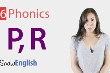 English Phonics Consonants 'p' And 'r'