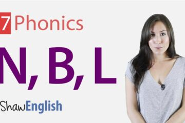 English Phonics series 'n', 'b' and 'l'